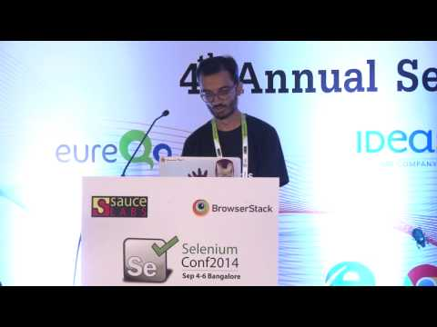 Running Selenium tests on a cloud of real mobile devices by Dhimil Gosalia @ Selenium Conf 14