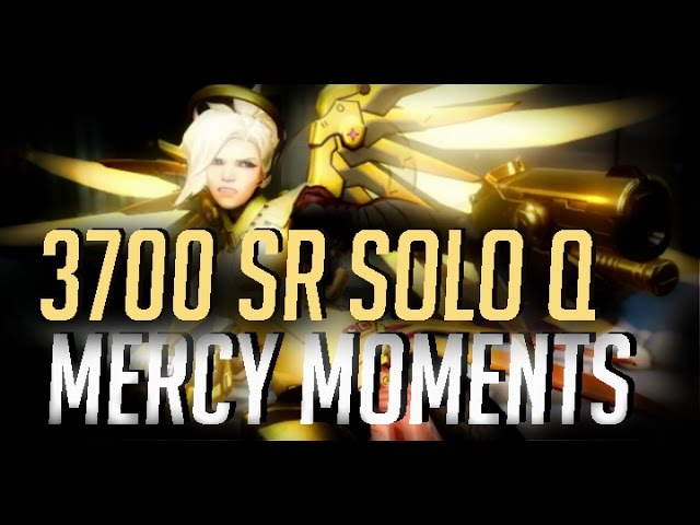 [Overwatch] 3700 Mercy Moments POTG