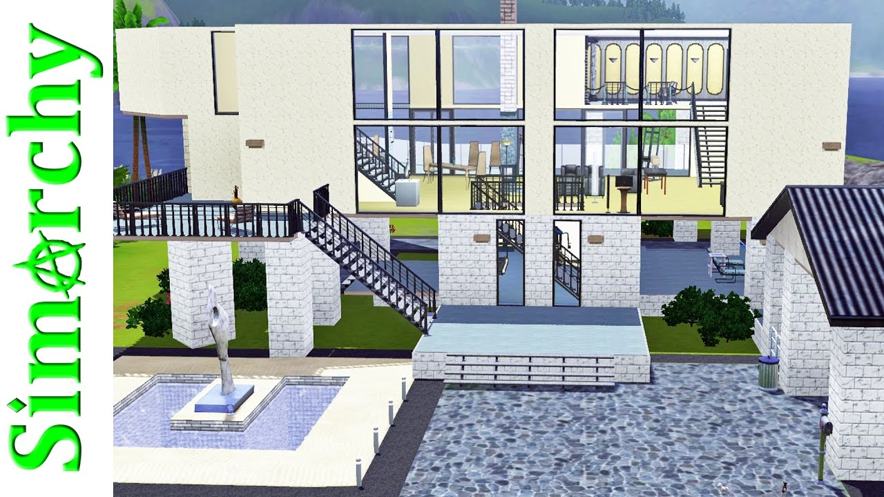 The Sims 3 House Tour - Sunset Valley Base Game Homes - Part 1 by Simarchy