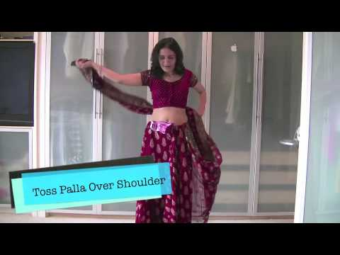 How to wear sari (saree) in less than 5 minutes (Palla and pleats) with Sari Saheli-The Pleat Maker