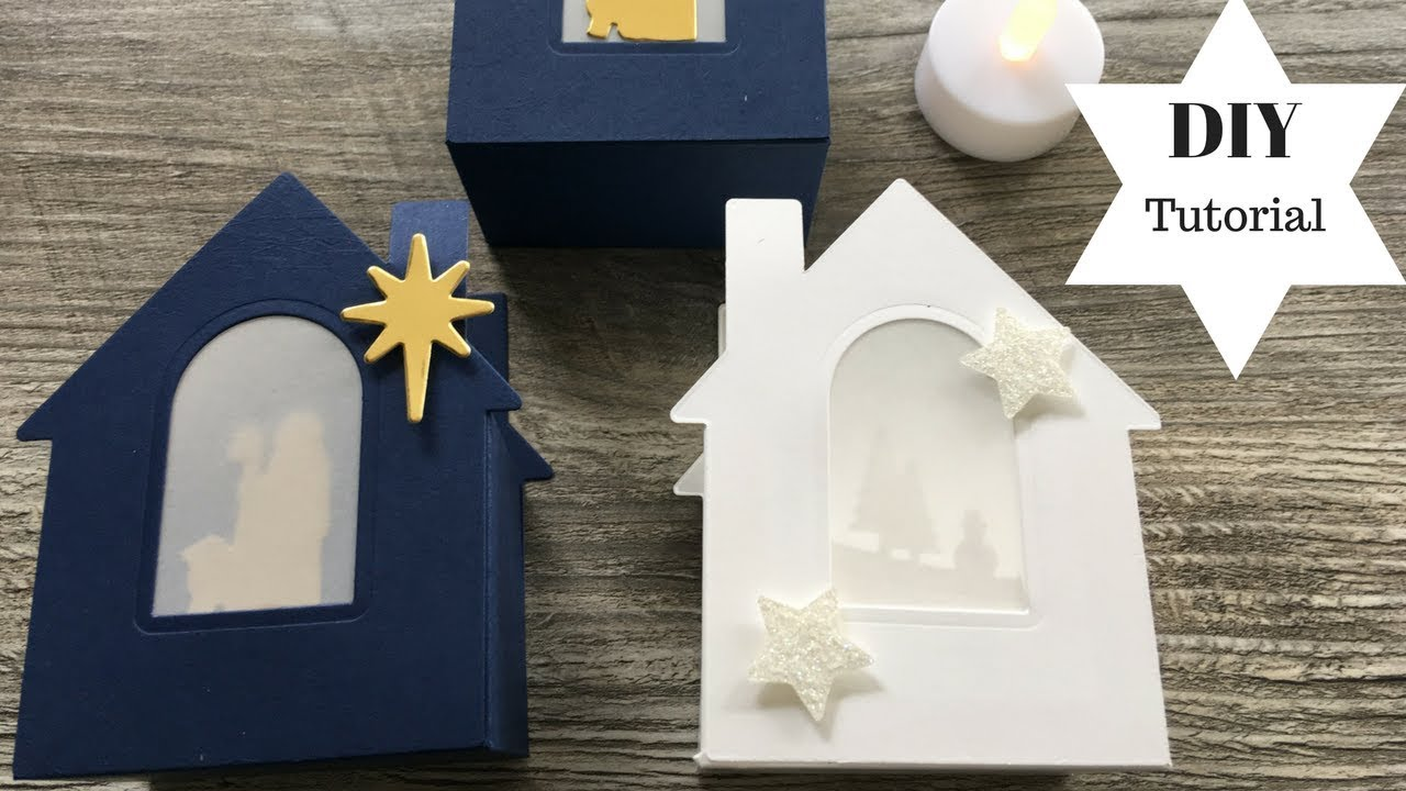weihnachtsdeko basteln 3d windlicht mit stampin 39 up tutorial diy youtube. Black Bedroom Furniture Sets. Home Design Ideas