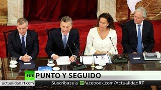 Macri protagoniza un fuerte cruce con la oposición y reclama haber reducido la pobreza