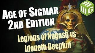 Legions of Nagash vs Idoneth Deepkin Age of Sigmar Battle Report Ep 51