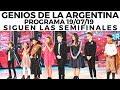Genios de la Argentina en Showmatch - Programa completo 19/07/19 - Siguen las semifinales