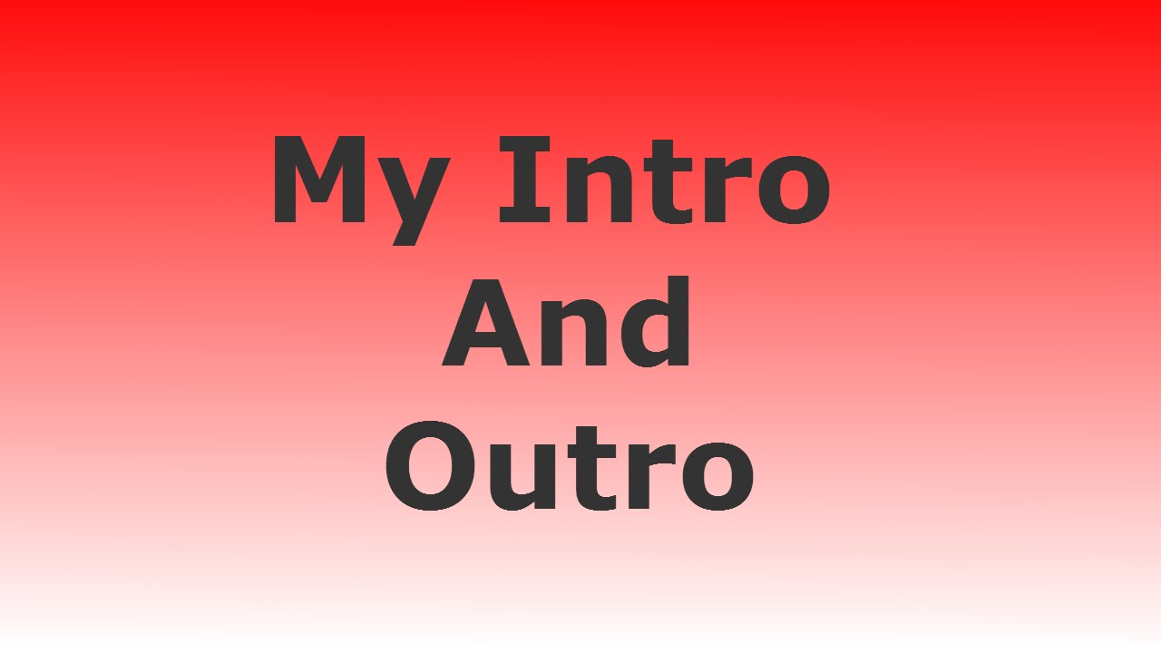 My intro and outro youtube for Velosofy outro