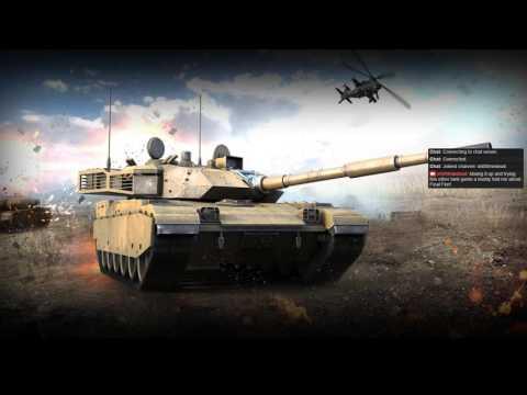 An hour of Final Fire (Modern Tanks Game)