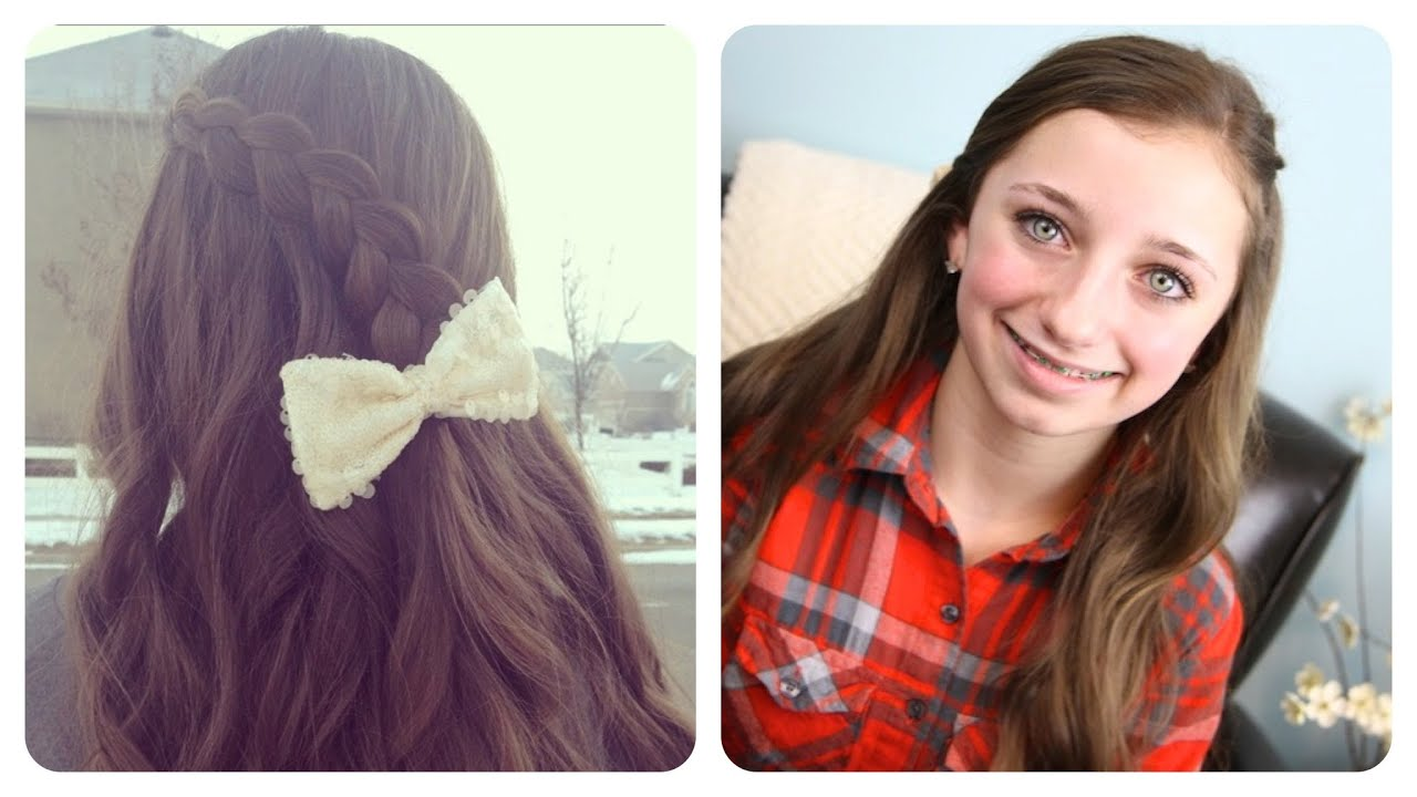 Hair Style Youtube In Hindi: Pancake Lace Braid By BrooklynAndBailey