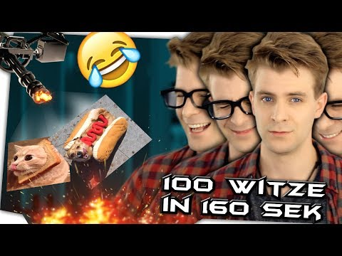 100 WITZE in 160 SEKUNDEN
