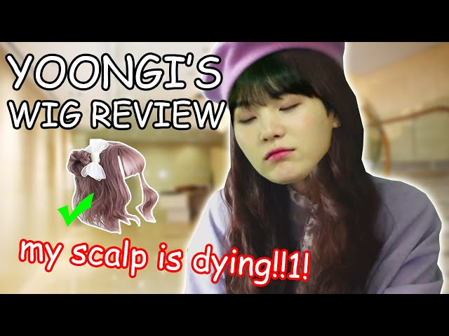 YOONGI'S WIG REVIEW (Anibiu Wig Haul)