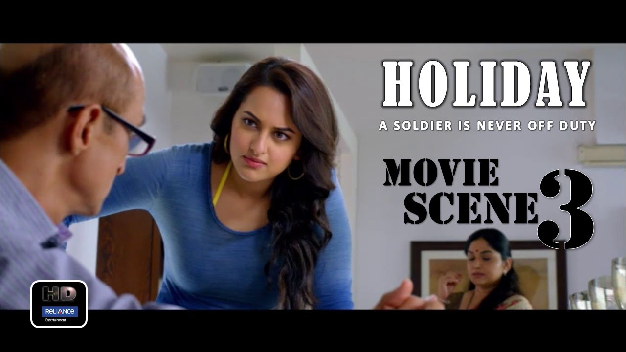 Download Holiday (2014) Official Movie Scene #3   Akshay Kumar,Sonakshi Sinha