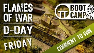 Flames Of War D-Day Day One Draws To A Close