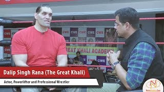 Interview of Dalip Singh Rana (The Great Khali), Actor, Powerlifter and Professional Wrestler