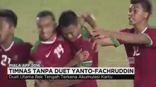 Duet Basna - Fachrudin Absen Bela Timnas di Semifinal Piala AFF, Siapa Penggantinya?