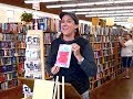 Janet Kuypers reads Down in the Dirt & cc&d 6/17 book poems @ Half Price Books show 6/7/17 (Sony).