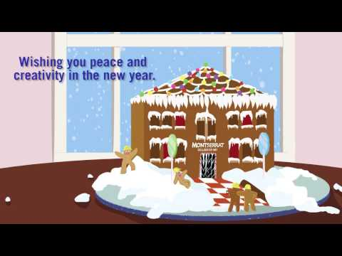 2016 Holiday Card Animation from Montserrat College of Art
