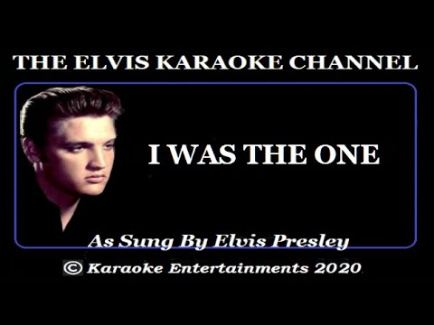 Elvis Presley Karaoke I Was The One Symphonic Version