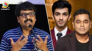 Comedian Vivek Speech about AR Rahman and Anirudh | Top Music Directors in Tamil Cinema
