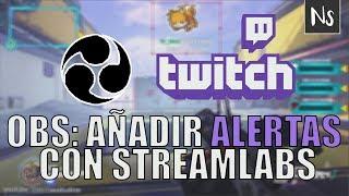 OBS Studio - Añadir alertas al stream de Twitch con Streamlabs thumbnail