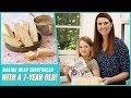 Making Irish Shortbread with a 7-Year-Old | Bigger Bolder Baking Cookbook Recipe