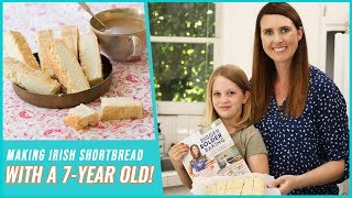 Making Irish Shortbread with a 7-Year-Old! | The Bigger Bolder Baking Cookbook