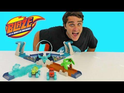 Blaze and The Monster Machines Geyser Blast Playset ! || Toy Review || Konas2002