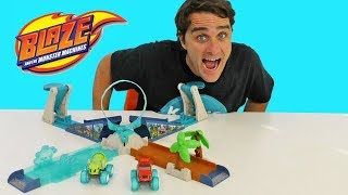 Blaze and The Monster Machines Geyser Blast Playset ! || Toy Review || Konas2002
