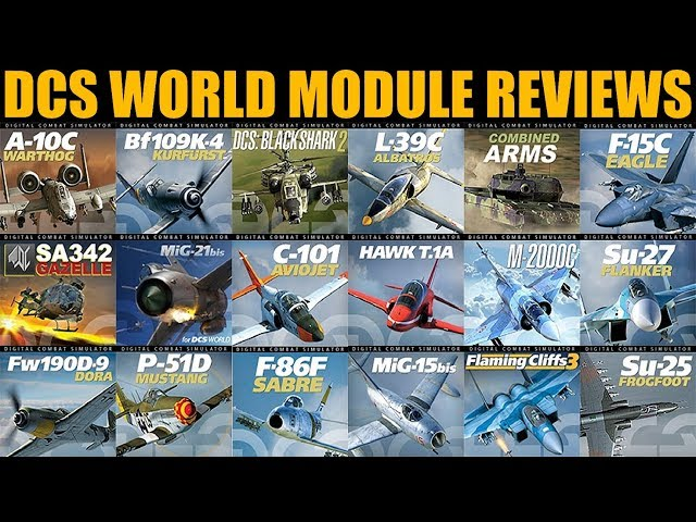 New Series Of DCS WORLD Module Reviews/Buyers Guides