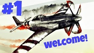 War Thunder Multiplayer Gameplay Part 1 - Welcome! (PC) Germany Planes