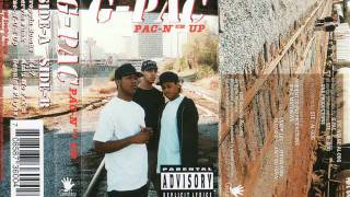 G-Pac (Al-Dog, STE, Nsane) Serving Funk (1995 Oklahoma) DOPE Rap Gee-Funk