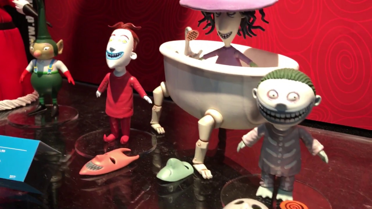 Toy Fair 2017: Diamond Select Nightmare Before Christmas - YouTube