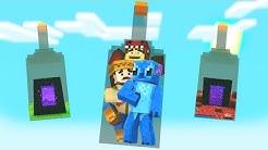 FlexVega-3-SUPERVIVIENTES-ATORADOS-en-UNA-BOTELLA-con-RAPTOR-y-SILVIO-Minecraft-