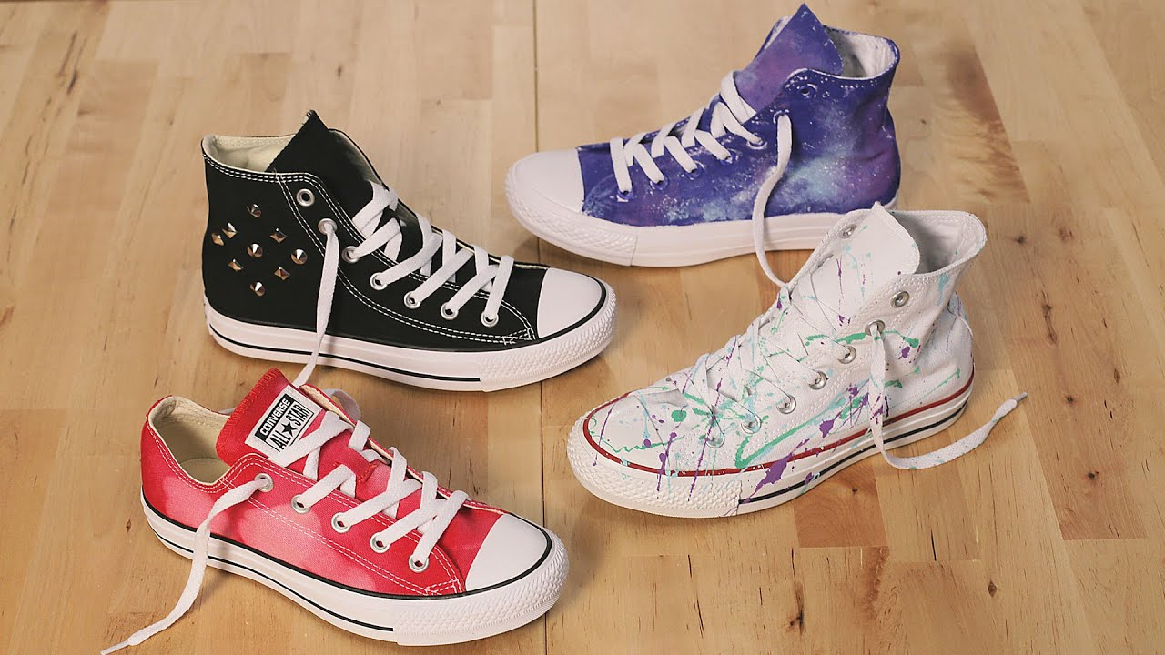 a9bf324df7bf02 DIY Ways to Customize Converse Part 2 - YouTube
