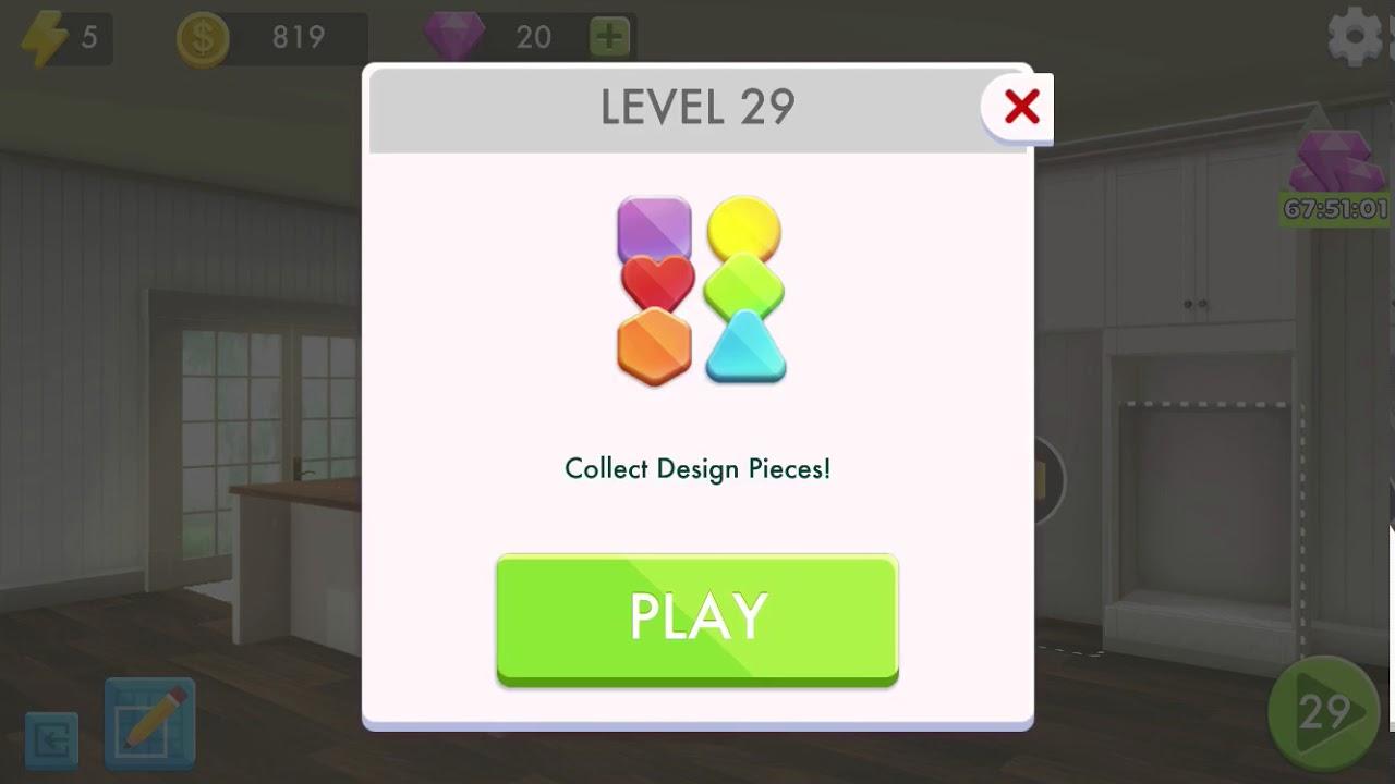 Home Design Makeover! Level 29 - YouTube