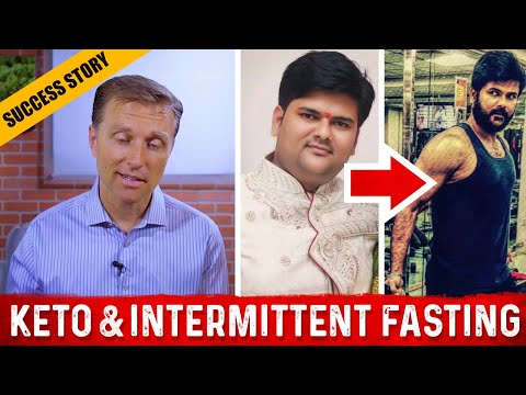 Keto & Intermittent Before-After with Dr. Berg & Amit Nikharge