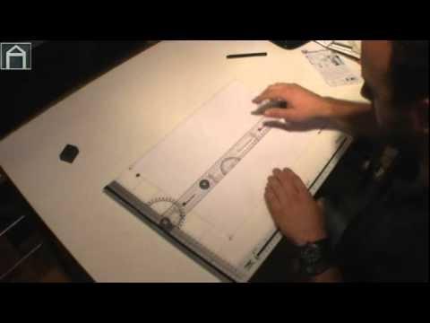 Arhitekt profesionalne table za crtanje postavljanje for Table za crtanje
