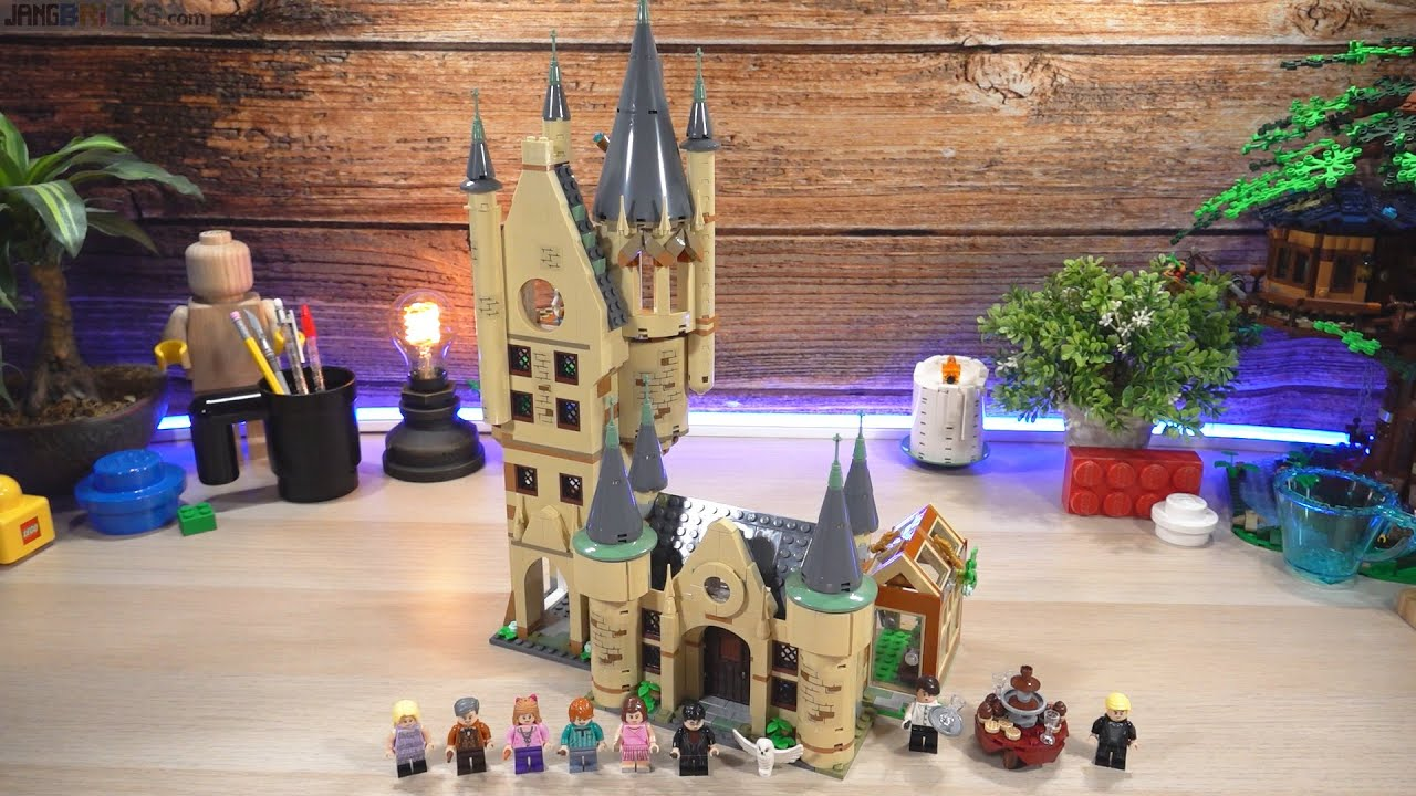 Build ⏩ LEGO Harry Potter Hogwarts Astronomy Tower 75969