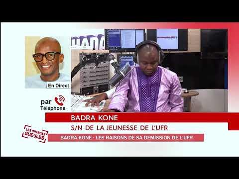BADRA KONE JUSTIFIE LES RAISONS DE SON DEBARQUEMENT A L'UFR - EXTRAIT GG20200603