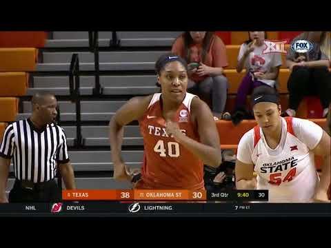 Texas vs Oklahoma State Women's Basketball Highlights