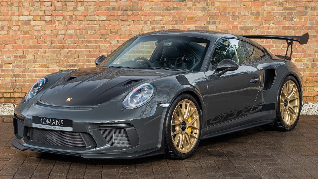 2019 Porsche 911 991 2 Gt3 Rs Weissach Pack Slate Grey Walkaround Interior Youtube