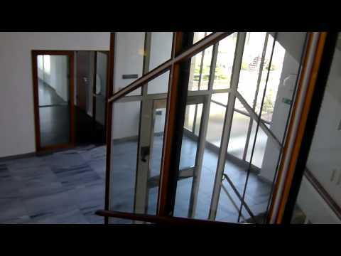 Amazing 1958 TITAN glass elevator @ The Royal Danish Music Academy in Copenhagen