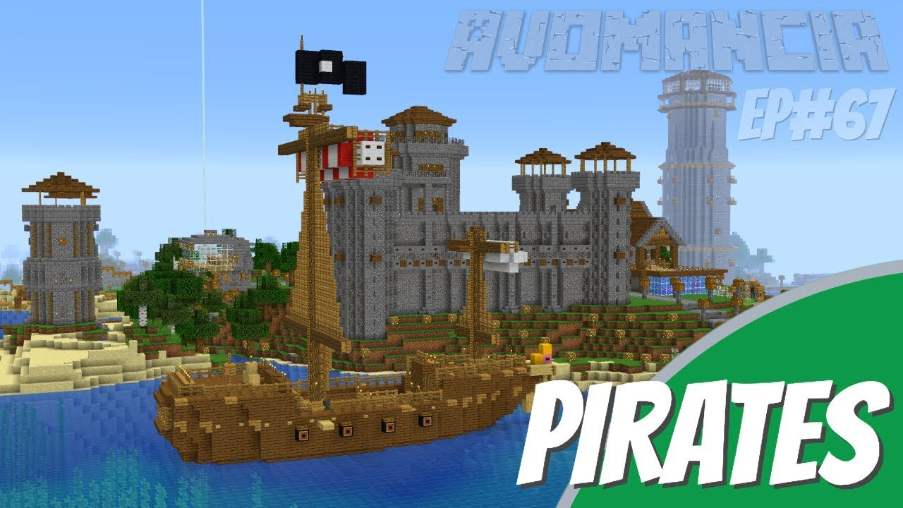 pirate ship minecraft # 14