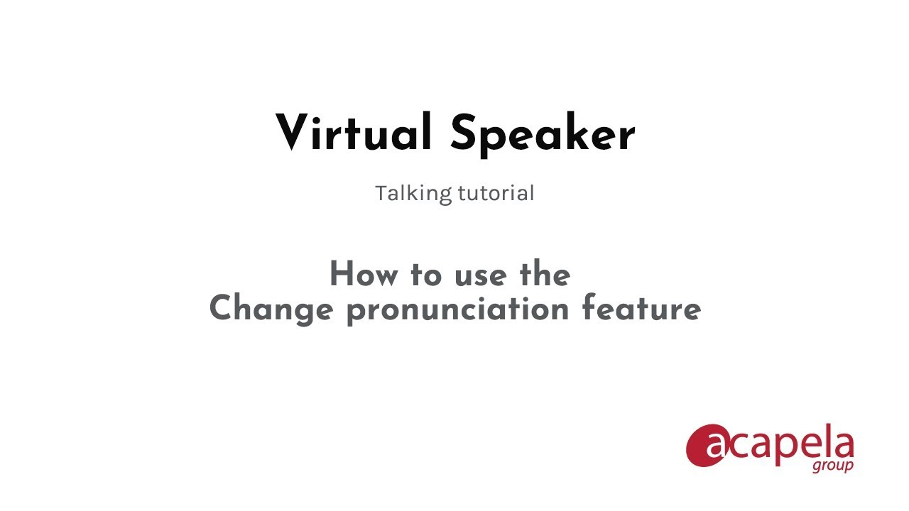 Virtual Speaker, text to speech synthesizer. Your virtual