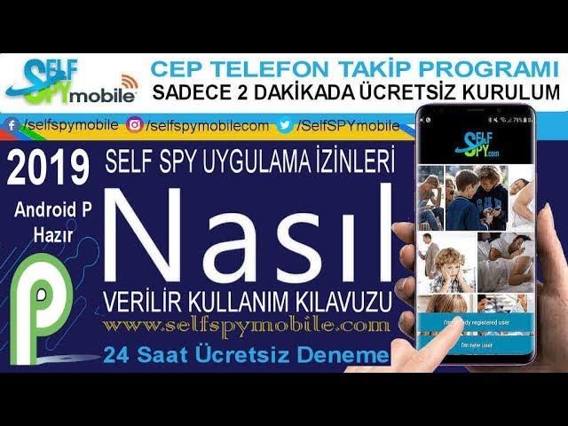 Self SPY Uygulama İzinleri Nasıl Verilir - Kullanım Kılavuzu