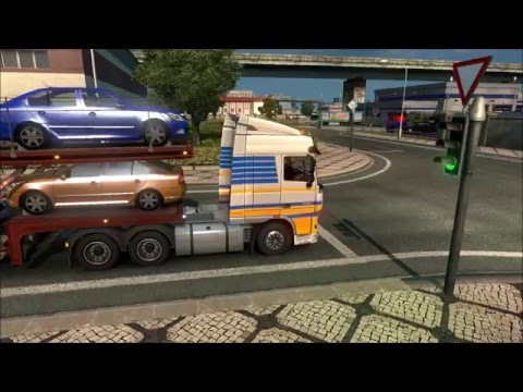 "Euro Truck Simulator 2 Multiplayer Ep. 2: ""Professional"" Drivers Compilation"