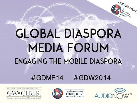 Global Diaspora Media Forum Livestream