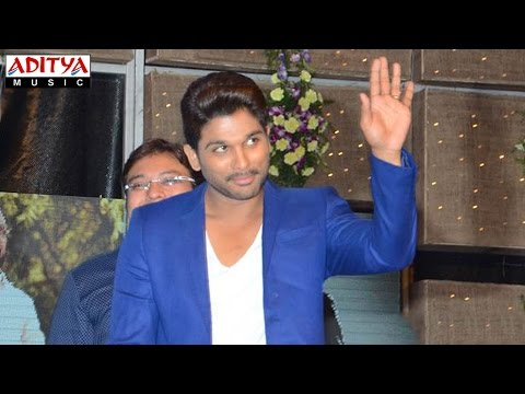 Allu Arjun Energetic Entry S/o Satyamurthy Audio Launch