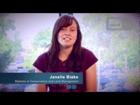 NMIT Our People, Our Stories 2012: Conservation & Land Management - Janelle Blake