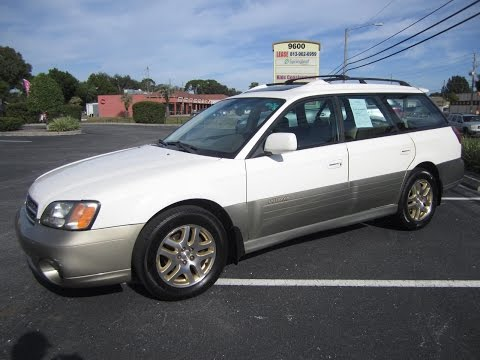 SOLD 2000 Subaru Outback Legacy Limited Meticulous Motors Inc Florida For Sale