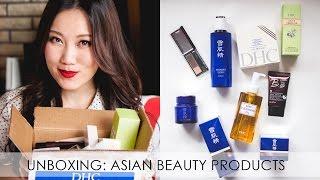 Asian Beauty Unboxing | Sekkisei Mizon DHC Kate