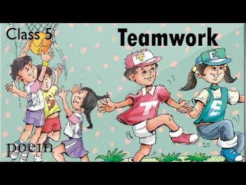 Class 5 poem - ( Teamwork ) Unit-2 of Marigold book || Hindi explanation